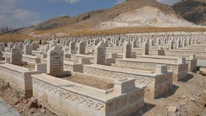 Hasankeyfte bu kez mezarlar taşınıyor