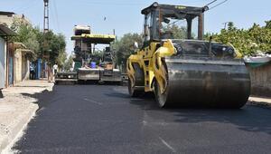 Ceyhanda yollar asfaltlanıyor