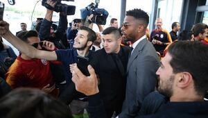 Galatasaraya Belçikada coşkulu karşılama