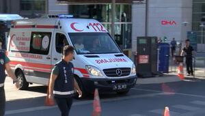 Çağlayanda bulunan İstanbul Adliyesinde kanlı olay