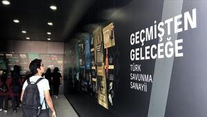 Geçmişten Geleceğe Türk Savunma Sanayii TEKNOFESTte sergileniyor