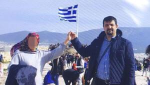 Yunanistan'a kaçtı Bu pozla birlikte bakın neler yazdı…