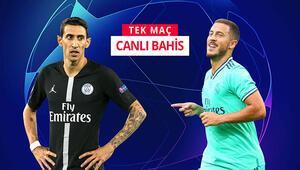 PSG - Real Madrid maçına CANLI BAHİS fırsatı Maç öncesi öne çıkan ise...