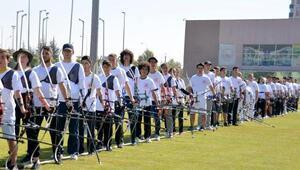 Ahilik Haftasında okçuluk ve atıcılık turnuvaları yapıldı
