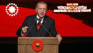 Cumhurbaşkanı Erdoğan, Akademik Yıl Açılış Töreninde konuştu