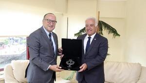 TOBB Başkan Yardımcısı Zeytinoğlu, YTSO'yu ziyaret etti