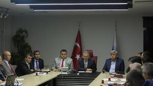 Başkan Büyükkılıç, birim müdürleriyle görüştü