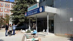 Sağlık Müdürü Bilge, yeni sağlık merkezi çalışmaları inceledi