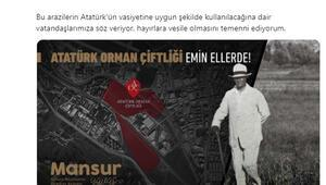 Yavaş: Atatürk'ün vasiyetine uygun kullanılacak