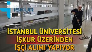 İstanbul Üniversitesi İŞKUR üzerinden 38 sürekli işçi alımı yapacak Başvuru şartları neler