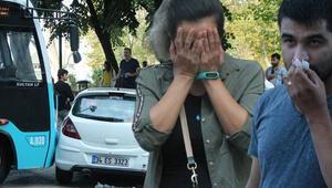 Taksimde feci kaza Şoka girdiler