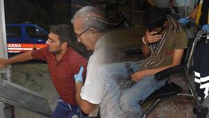 Yunanistan sınırında dehşet Yüzleri maskeli kişiler saldırdı