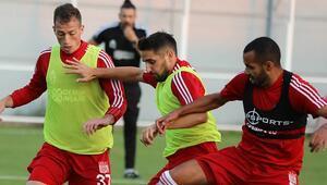Sivasspor, Trabzonspor hazırlıklarını sürdürdü 2 eksik...