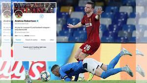Penaltıya sebebiyet veren Robertson, sosyal medyada linç yedi Hesabını kapattı...