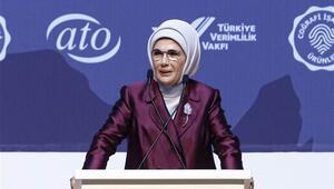 Emine Erdoğan: Türkiye'de coğrafi işaret alabilecek 2 bin 500 ürün var