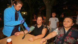 Yenimahalle'de sağlık taraması