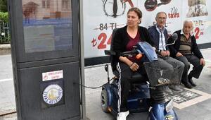 Sivasta sesli duraklar, engellilerin hayatını kolaylaştırdı