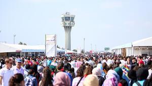 2 günde 250 bin kişi geldi