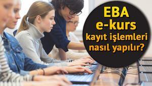 E Kurs öğrenci girişi nasıl yapılır EBA DYK E Kurs öğrenci giriş ve kayıt ekranı