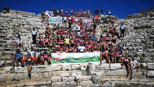 Mersin Caretta Bisiklet Festivaline yoğun ilgi