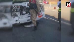 Yolcu otobüsü ile tır çarpıştı: 4ü ağır 17 yaralı