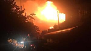 Ispartada 3 ev yandı