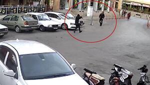 Sokak ortasında vuruldu İşte o an...