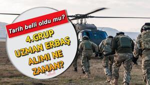 Jandarma Uzman Erbaş alımı 4. grup alımları ne zaman yapılacak