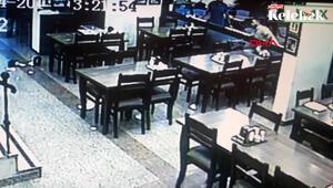 Şevket Çoruha saldıran grubun, restoranı birbirine kattığı görüntüler ortaya çıktı