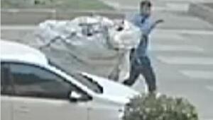 Kağıt toplayıcı gibi gezdiği sokaktaki villadan 100 bin liralık hırsızlık yapmış