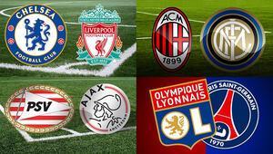 Avrupa'da derbi haftası Büyük liglerde önemli maçlar...