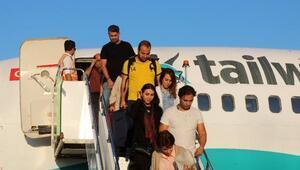 İrandan Gazipaşaya ilk charter seferi