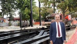 Güzelyalı Atatürk Parkı'nda ikinci etap çalışmalar başladı