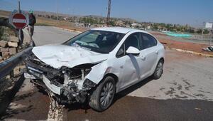 Gemerekte iki otomobil çarpıştı: 4 yaralı