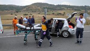 Boluda kaza: 2 yaralı