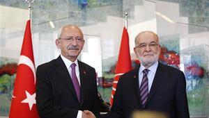 Karamollaoğlundan Kılıçdaroğluna ziyaret