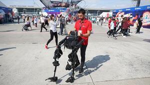 Yürüyemeyenler için giyilebilir dış iskelet robotu geliştirildi