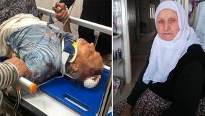 Vicdansız 3 bin lira için 91 yaşındaki kadını darbedip öldü diye bırakmış