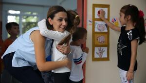 Anaokulu öğrencilerine 'çoktan seçmeli' karşılama seremonisi