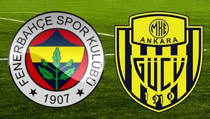 Fenerbahçe - Ankaragücü maçı saat kaçta yayınlanacak ve hangi kanalda İlk 11ler belli oldu