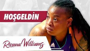 Elazığ İl Özel İdareye bir takviye de WNBAden Amerikalı Riquana Williams...