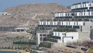 Bodrumdaki proje çok tepki çekmişti Sıra o kısımların yıkımına geldi