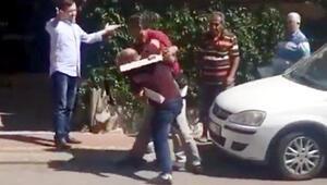 Antalyada akılalmaz kavga