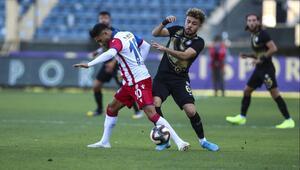 Osmanlıspor, üç maç aradan sonra güldü