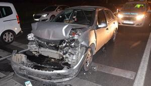 Nazillide zincirleme trafik kazası: 1 yaralı
