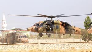 Tel Abyad'da mevziler denetlendi