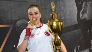 Kübranur Sözübek Avrupa şampiyonu oldu