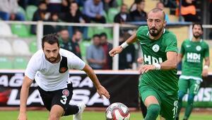 Giresunspor - Fatih Karagümrük: 1-1