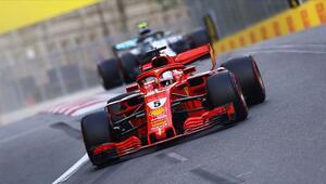 Vettelden sezonun ilk zaferi