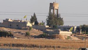 Terör örgütü YPG/PKKnın  sözde bayrak oyunu